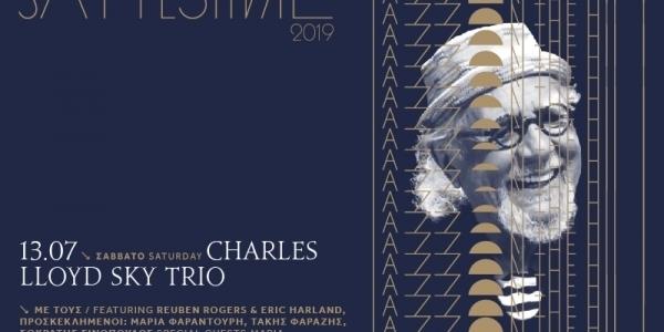 Charles Lloyd Sky Trio στο Sani Festival 2019