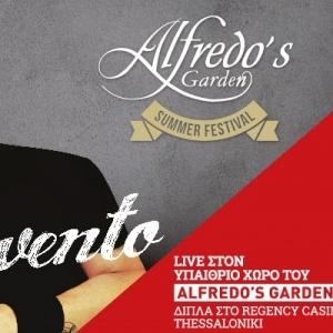 Stavento live στο Alfredo's Garden