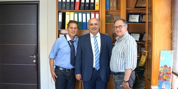 Το Δημαρχείο Παύλου Μελά επισκέφθηκε ο Μάρκος Μπόλαρης