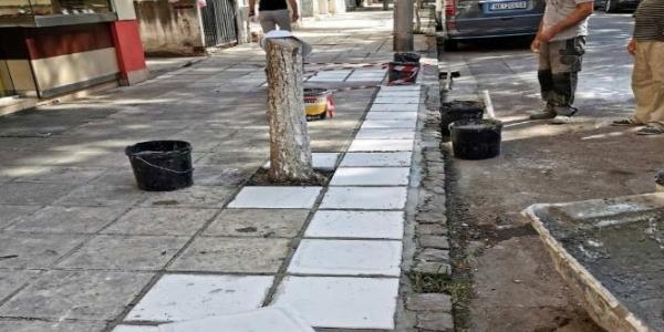 Εργασίες συντήρησης  στο δήμο Αμπελοκήπων-Μενεμένης