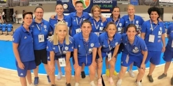 Καλύτερη ομάδα κωφών γυναικών στο μπάσκετ η Εθνική