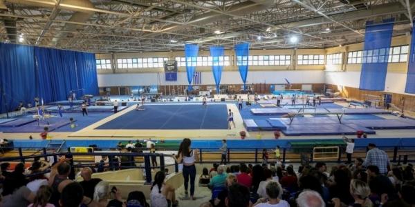 Το Πανελλήνιο πρωτάθλημα ενόργανης γυμναστικής στη Θεσσαλονίκη