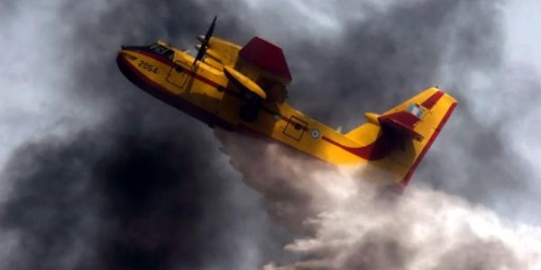 Πολύ υψηλός κίνδυνος πυρκαγιάς για τη Χαλκιδική