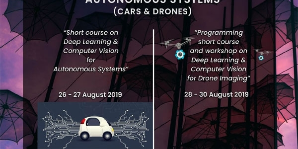 Summer school on Autonomous Systems (cars & drones)