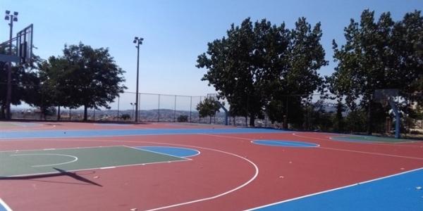Αναβάθμιση για έξι ανοιχτά γήπεδα μπάσκετ στο Δήμο Παύλου Μελά