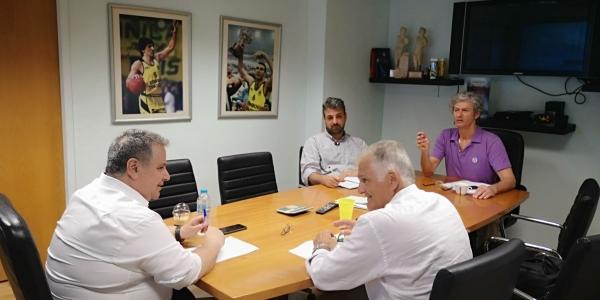 ΑΡΗΣ: Συνάντηση Γουλιέλμου - Μαρκόπουλου για το ρόστερ της ομάδας