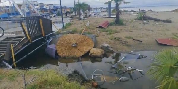 Χαλκιδική: Νύχτα αγωνίας χωρίς ρεύμα και νερό