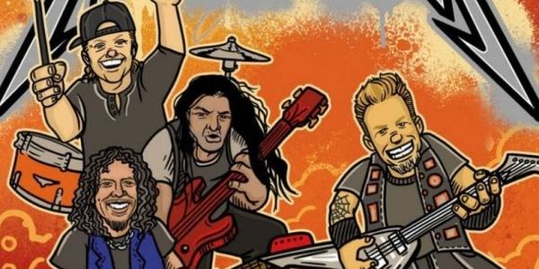 «The ABCs of Metallica» - Εικονογραφημένο παιδικό βιβλίο από τους Metallica