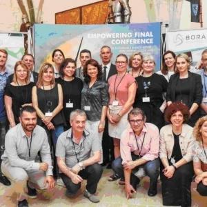 «Προς ένα ενεργειακά βιώσιμο μέλλον»: Ολοκληρώθηκε το συνέδριο του ευρωπαϊκού έργου EMPOWERING