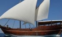 Στη Θεσσαλονίκη παραδοσιακό σκάφος – μουσείο του Κατάρ