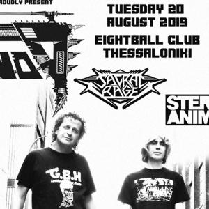 Οι Voivod live στο 8Ball Club