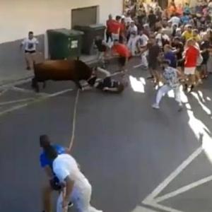Άνδρας έχασε τη ζωή του μετά από επίθεση ταύρου σε φεστιβάλ στη Βαλένθια