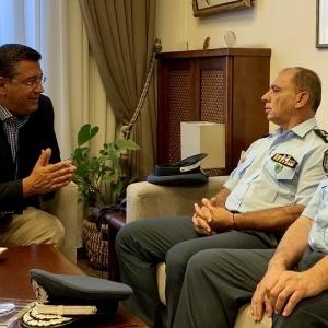 Συνάντηση Τζιτζικώστα με την ηγεσία της Αστυνομίας