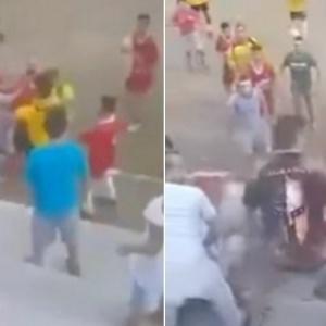 Ξύλο σε τοπικό αγώνα ποδοσφαίρου
