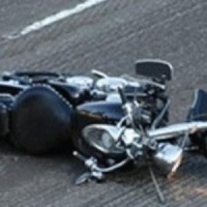 Νεκρός οδηγός μοτοσικλέτας