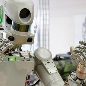 Ανθρωποειδές ρωσικό ρομπότ  στον Διεθνή Διαστημικό Σταθμό