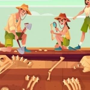 Τα παιδιά εξοικειώνονται με την επιστήμη της παλαιοντολογίας