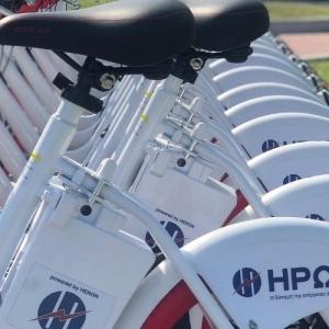 Υποβοηθούμενα ποδήλατα κοινής χρήσης στη Θεσσαλονίκη