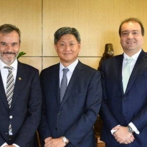 Συνάντηση Ζέρβα με τον Πρέσβη της Δημοκρατίας της Κορέας
