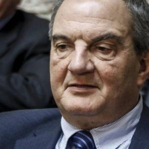 Ο Κώστας Καραμανλής στο Δημαρχείο Θεσσαλονίκης