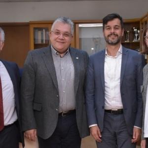 Συνάντηση του Πρύτανη του ΑΠΘ με τον Γενικό Πρόξενο της Γαλλίας στη Θεσσαλονίκη