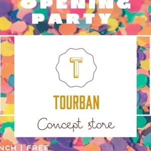 Opening Party στο Tourban Concept Store