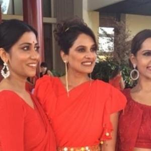 Ινδές καλλονές στην Χαλκιδική για διεθνή διαγωνισμό
