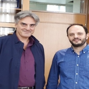 Εθιμοτυπική συνάντηση προέδρου Φαρμακευτικού Συλλόγου Θεσσαλονίκης με τον Δήμαρχο Καλαμαριάς