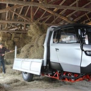 Το πρώτο ηλεκτρικό όχημα επαγγελματικής χρήσης 3ΜΧ  παρουσιάστηκε στην Ιταλία