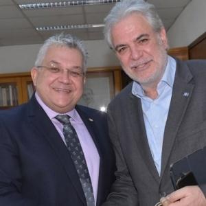 Ο επίτροπος Ανθρωπιστικής Βοήθειας  της Ευρωπαϊκής Επιτροπής στο ΑΠΘ