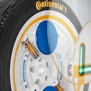 Continental :  Ελαστικά με αισθητήρες ενσωματωμένους στη δομή του ελαστικού!