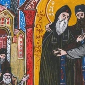 Oμαδική έκθεση ζωγραφικής για τον Άγιο Σάββα τον Χιλανδαρινό