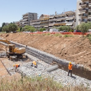 2,4 εκ € για αντιπλημμυρικά έργα στο Ρέμα Κυψέλη