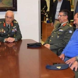 Επίσκεψη του Αρχηγού ΓΕΣ στον Δήμο Φλώρινας