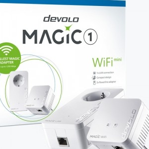 Devolo Magic 1 WiFi mini - μετατρέπει κάθε πρίζα σε ένα ισχυρό WiFi hotspot