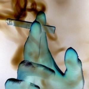Σοκαριστική η εικόνα πνευμόνων καπνιστή