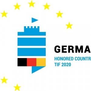 Ο «Ευρωπαίος» Λευκός Πύργος το λογότυπο της Γερμανικής συμμετοχής στην 85η ΔΕΘ