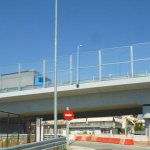 Στην κυκλοφορία δόθηκε η γέφυρα της Δυτικής Εσωτερικής Περιφερειακής