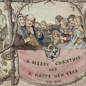 H πρώτη χριστουγεννιάτικη κάρτα του κόσμου
