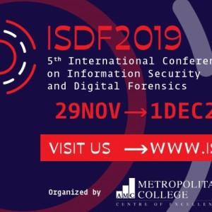 Διεθνές Συνέδριο στην Ασφάλεια Πληροφοριών και την Ηλεκτρονική Εγκληματολογία