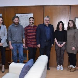 Συνάντηση του Πρύτανη του ΑΠΘ με την βραβευμένη ομάδα iGEM Thessaloniki
