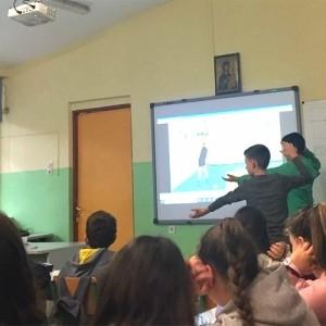 Επίσκεψη ομοσπονδιακών προπονητών βόλεϊ στο 3ο Δημοτικό σχολείο Παιανίας