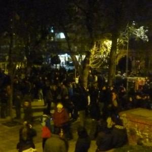 Πορεία μνήμης αντιεξουσιαστών και φοιτητικών συλλόγων στο κέντρο της Θεσσαλονίκης
