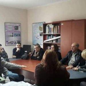 Αντιπροσωπεία του ΣΥΡΙΖΑ επισκέφθηκε τον φορέα διαχείρισης λιμνών στη Θεσσαλονίκη