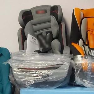 Δωρεά παιδικών καθισμάτων αυτοκινήτου στην Ελληνική Αστυνομία
