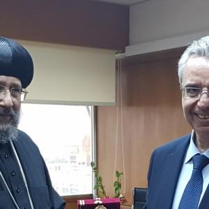 ΑΠΘ και Κοπτικό Ορθόδοξο Πολιτιστικό Κέντρο Καΐρου ανανεώνουν την συμφωνία τους