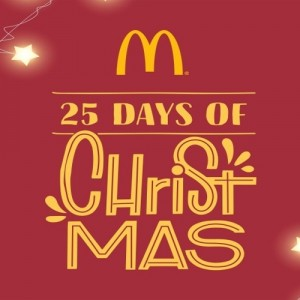 "McDonald's ""25 Days of Christmas"""