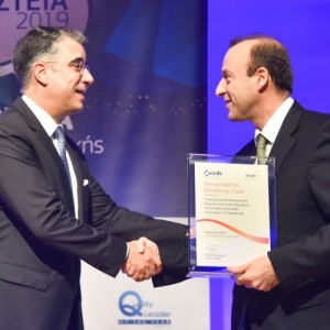 Tη Διεθνή Πιστοποίηση «Recognised for Excellence 3 Star» έλαβε ο ΕΛΚΕ του ΑΠΘ
