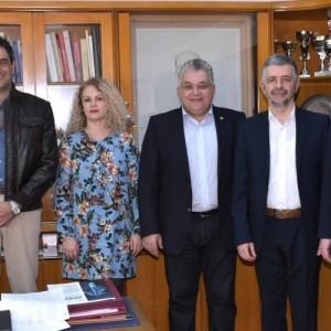 Συνάντηση του Πρύτανη του ΑΠΘ με τον Πρύτανη του St. Kliment Ohridski University