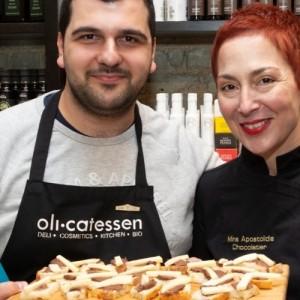Κατάμεστο το Olicatessen στις γευσιγνωσίες της Μίνας Αποστολίδη